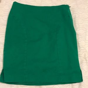 Green Calvin Klein skirt
